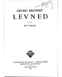 Levned, Part 3 by Brandes, Georg