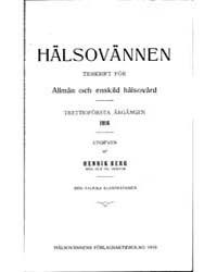 Hälsovännen : Halsovan, 1916 by Project Runeberg