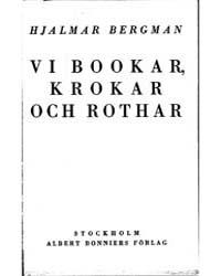 Hjalmar Bergman Skrifter ; Bookar by Bergman, Hjalmar