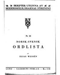 Wessén, Elias by Project Runeberg