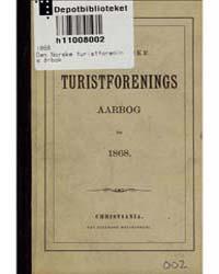 Den Norske Turistforenings Aarbog, 1868 by Project Runeberg