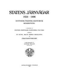 Statens Järnvägar 1856-1906 Historisk-te... by Project Runeberg