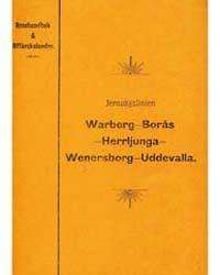 Jernvägslinien Warberg-borås-herrljunga-... by Project Runeberg