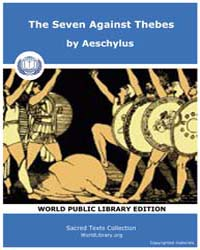 The Seven Against Thebes, Score Acesch S... by Aeschylus