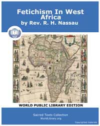 Fetichism in West Africa, Score Afr Fiwa by Rev. Nassau, R. H.