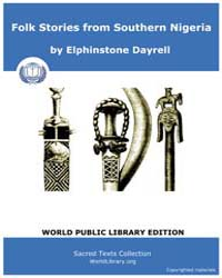 Folk Stories from Southern Nigeria, Scor... by Dayrell, Elphinstone