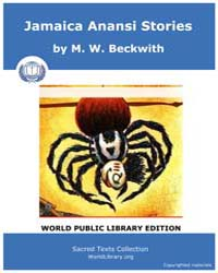 Jamaica Anansi Stories, Score Afr Jas Volume Vol. XVII by Beckwith, M. W .