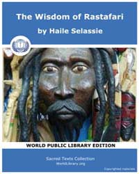 The Wisdom of Rastafari by Selassie, Haile