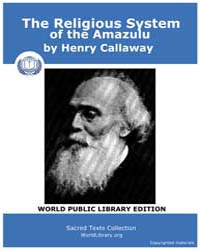 The Religious System of the Amazulu, Sco... by Callaway, Henry