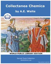 Collectanea Chemica, Score Alc Cc by Waite, A. E.