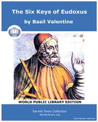 The Six Keys of Eudoxus by Valentine, Basil