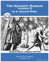 Sacred Text : the Hermetic Museum, Vol. ... by Waite, A., Edward