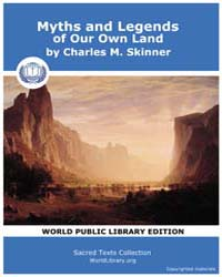 Myths and Legends of Our Own Land by Skinner, Charles, M.