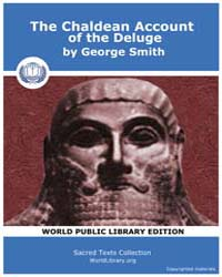 The Chaldean Account of the Deluge by Smith, George