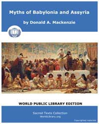 Myths of Babylon and Assyria, Score Ane ... by MacKenzie, Donald, A.
