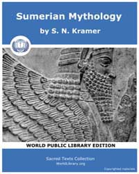 Sumerian Mythology, Score Ane Sum by Kramer, S. N.
