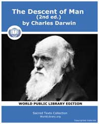 Sacred Text : the Descent of Man 2Nd Ed. by Darwin, Charles
