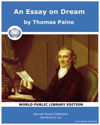 An Essay on Dream by Paine, Thomas