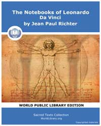 The Notebooks of Leonardo Da Vinci Volume I by Richter, Jean, Paul