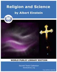 Sacred Text : Religion and Science by Einstein, Albert