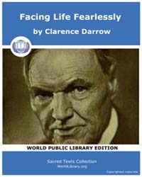 Sacred Text : Facing Life Fearlessly by Darrow, Clarence