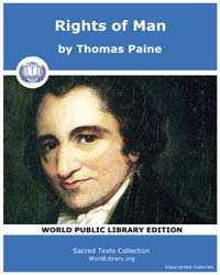 Rights of Man, Score Aor Rom Volume Vol. II by Paine, Thomas