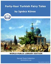 Forty-four Turkish Fairy Tales, Score As... by Kúnos, Ignácz
