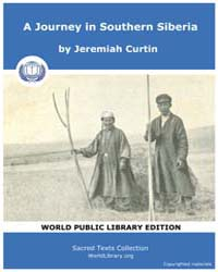 A Journey in Southern Siberia by Curtin, Jeremiah