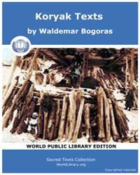 Koryak Texts, Score Asia Kort by Bogoras, Waldemar