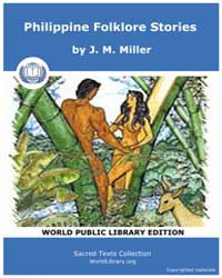 Sacred Text : Philippine Folklore Storie... by Miller, J. M.