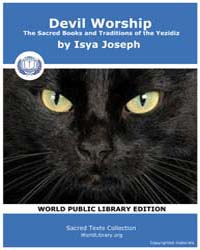 Davil Worship, the Sacred Books and Trad... by Joseph, Isya