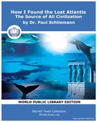 How I Found the Lost Atlantis, the Sourc... by Dr. Schliemann, Paul