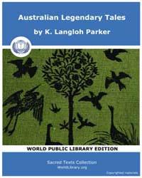 Australian Legendary Tales, Score Aus Al... by Parker, K., Langloh