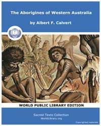 The Aborigines of Western Australia, Sco... by Calvert, Albert, F.