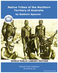 Native Tribes of the Northern Territory ... by Spencer, Baldwin