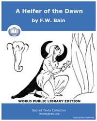A Heifer of the Dawn by Bain, F. W.