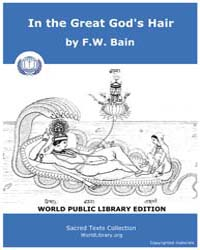 In the Great God's Hair, Score Bain 04Do... by Bain, F. W.