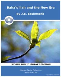 Baha'U'Llah and the New Era by Esslemont, J.E.