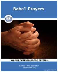 Baha'I Prayers, Score Bhi Bp06 by Sacred Texts