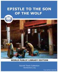 Epistle to the Son of the Wolf by Tutis Digital Publishing Pvt. Ltd.