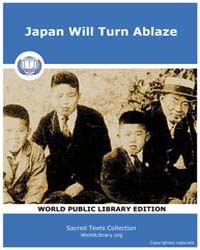 Sacred Text : Japan will Turn Ablaze by Baha'I Publishing Trust of Japan