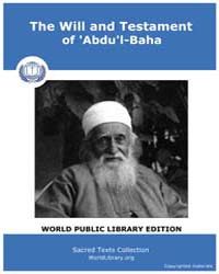 The will and Testament of 'Abdu'L-baha by William Rider & Son: London