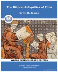 The Biblical Antiquities of Philo, Score... by James, M. R.