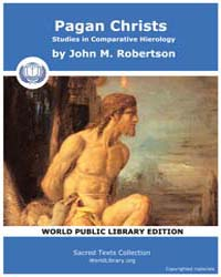Pagan Christs, Studies in Comparative Hi... by Robertson, John M.