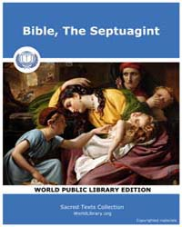Bible, the Septuagint, Score Bib Sep by Sacred Texts