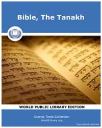 Bible, the Tanakh, Score Bib Tan by Sacred Texts
