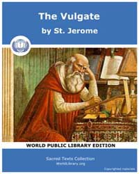The Vulgate, Score Bib Vul by St. Jerome
