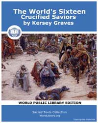 The World's Sixteen Crucified Saviors, S... by Graves, Kersey
