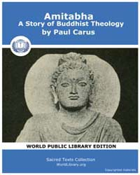 Amitabha, a Story of Buddhist Theology, ... by Carus, Paul