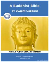 Sacred Text : a Buddhist Bible by Goddard, Dwight